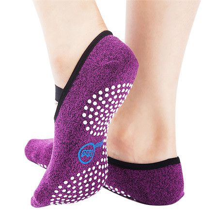 Yhao 2 Pack Professional Non Slip Yoga Women Pilate for Sport Ballet Socks