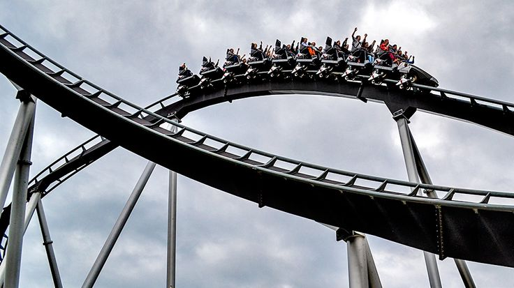 Silver Star located at Europa-Park in Germany is a steel rollercoaster that sends its riders into hairpin turns with intense G-force speeds.
