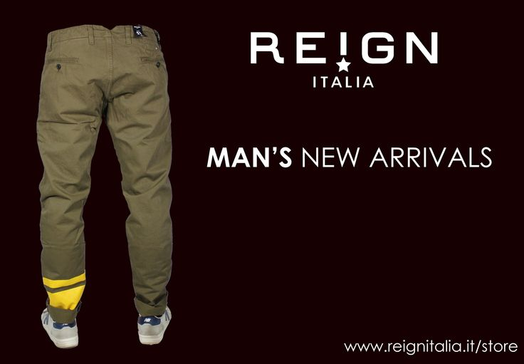 www.reignitalia.it/shop Man's New Arrivals