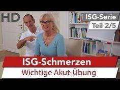 ISG Schmerzen // Schnelle Akut-Übung gegen Iliosakralgelenk Schmerzen