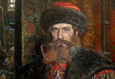 MALYUTA SKURATOV: head of the Oprichnina, the ruthless secret police, under the tyrannical regime of Ivan the Terrible. His organisation carried out state-sanctioned murder, arson and pillage. He once strangled an archbishop with his bare hands for having criticised his working methods.