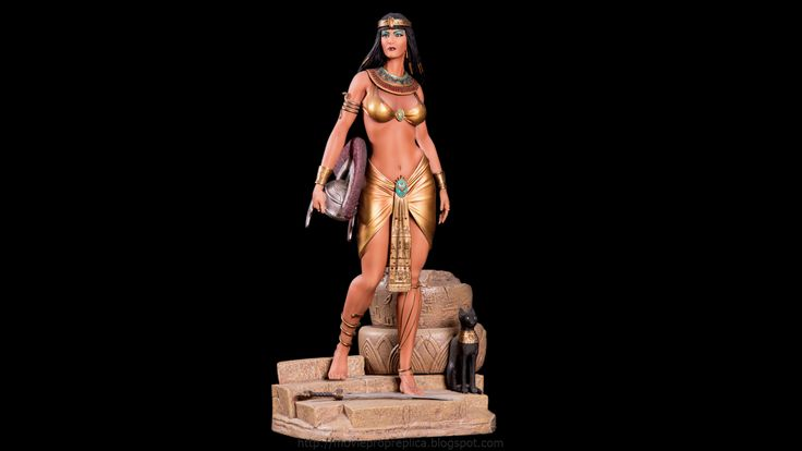 Fantasy Figure Collection: Cleopatra, Queen of Egypt ¼th Scale Painted Polystone Statue