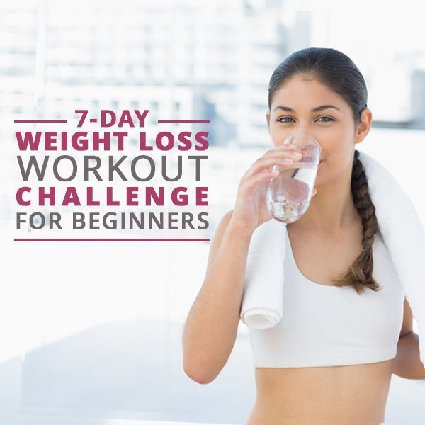 7 Day Weight Loss Workout Challenges | Athletic wear, Weight loss ...