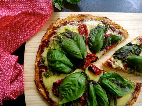 Julia & Libby - Cauliflower Pizza Base