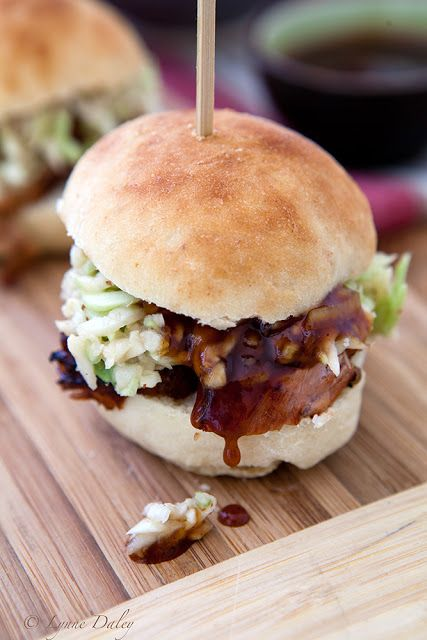 Cafe Lynnylu: Grilled Pork Tenderloin and Spicy Slaw Sliders-Homemade ...