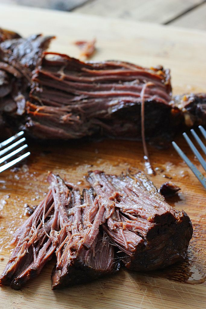 Slow cooker balsamic roast only needs 15 minutes of preparation. Brown sugar balances out the balsamic vinegar to create a mildly sweet and savory roast.