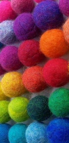 Bollen in diverse kleren #colorful