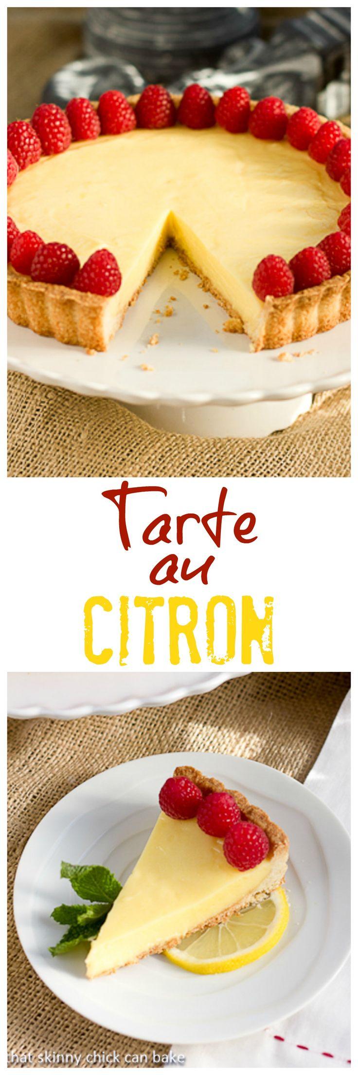 Tarte au Citron | An exquisite lemon dessert @lizzydo