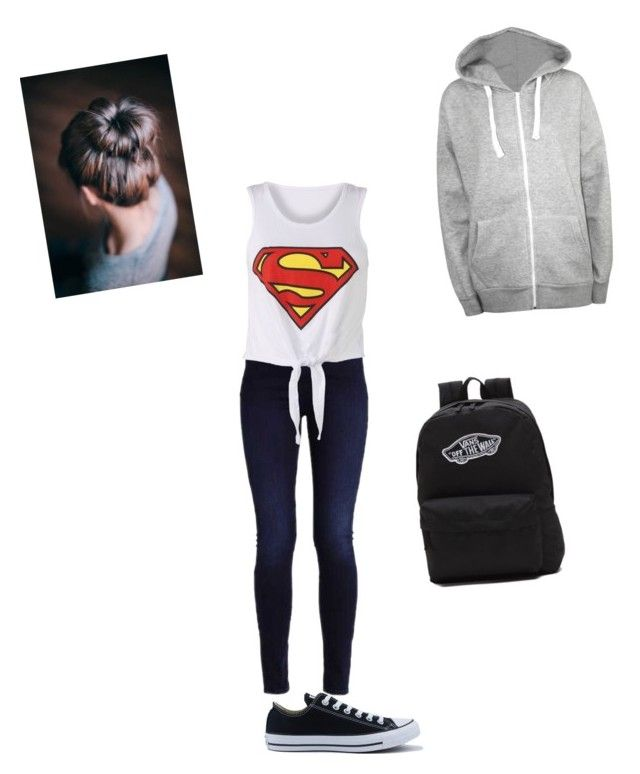 """""""Geen titel #79"""" by charlotteveenman on Polyvore featuring mode, Converse, WearAll, Vans en plus size clothing"""