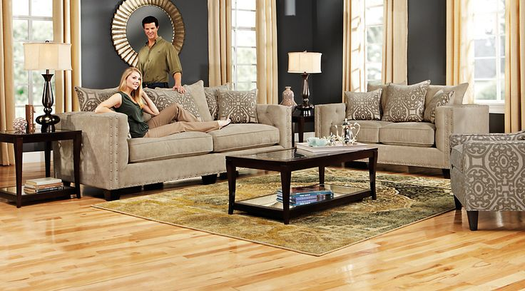 144 best furniture ideas images on pinterest furniture for Sidney road taupe living room collection