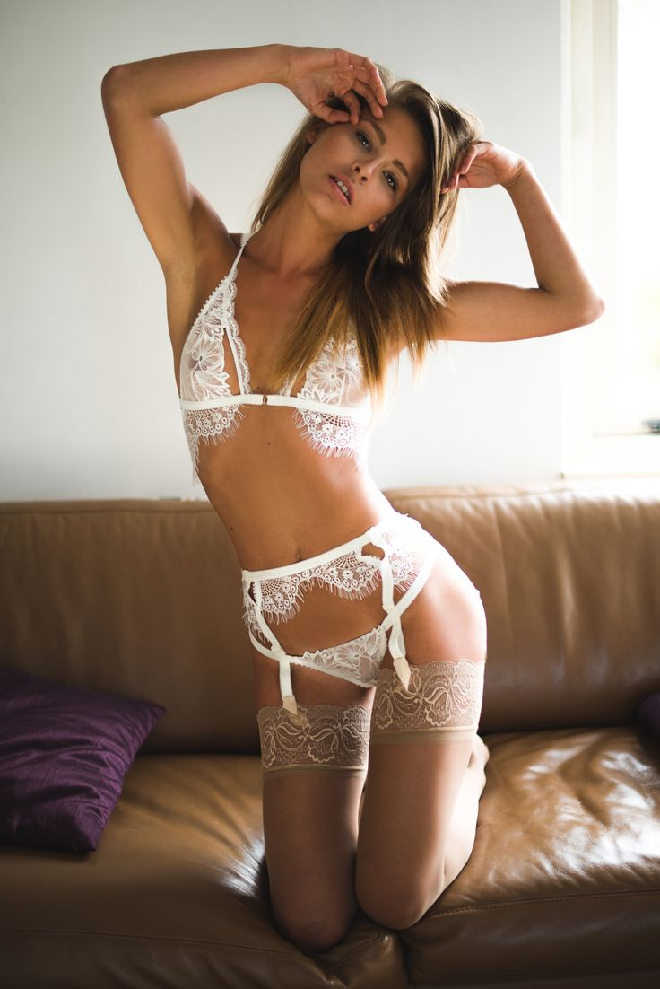 Sexy lingerie with stockings