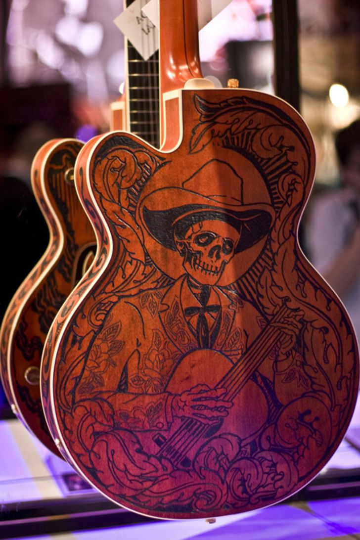 For our Day of the Dead Rockabilly Concert...   ~~  Houston Foodlovers Book Club