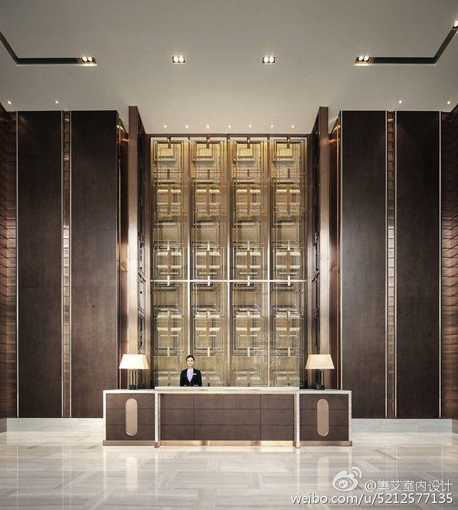 集艾室内设计的微博_微博. Hotel InteriorsOffice InteriorsHotel Lobby DesignHotel ...