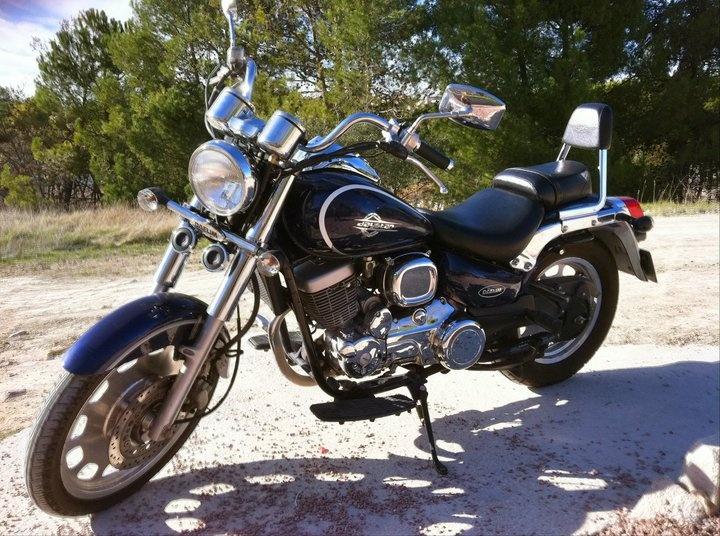My first motorcycle: Daelim Daystar 125cc