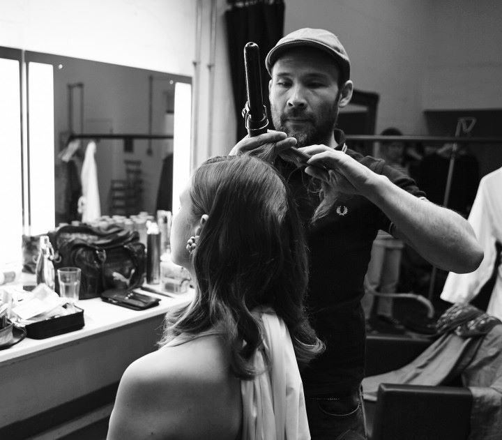 Backstage Beauty 💋 Brand Founder A Model Recommends & Super Hairstylist Darren Hau working their magic,  at the COLAB shoot.  #COLAB #BackstageBeauty #ProQuality #ModelRecommends  Available Superdrug feelunique.com BeautyMart UK Cloud 10 Beauty