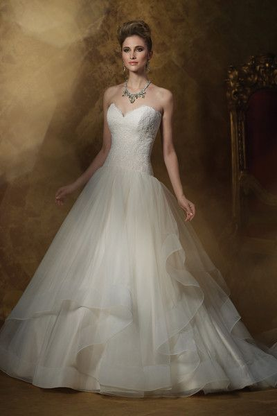 Stunning James Clifford Couture wedding gowns at Catan Fashions in Strongsville OH Find the dress of
