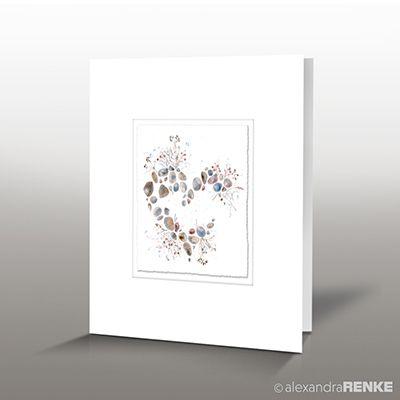 Designkarte 'Frühlingsgruß'