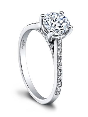 What your engagement ring says about you. I only want a round one.