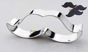 Buy Moustache cookie cutter metal, +-8x3cm for R35.00