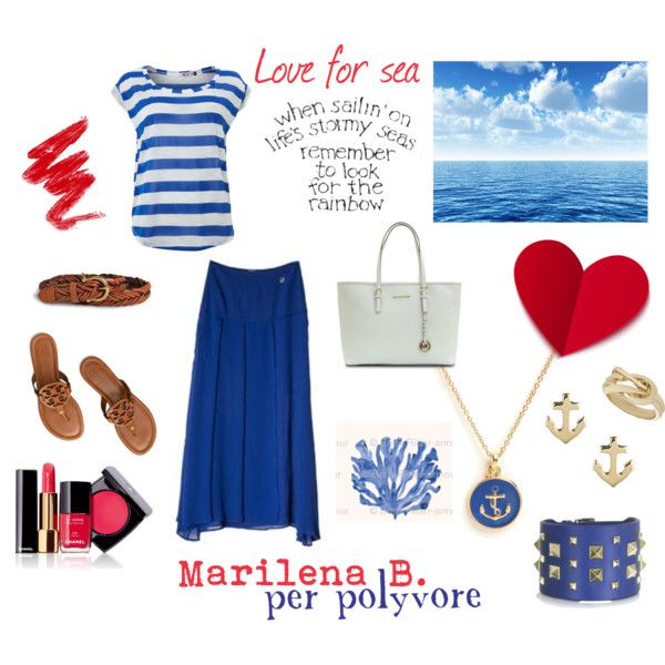 """LOVE FOR SEA"" by valentina-zanardi on Polyvore"