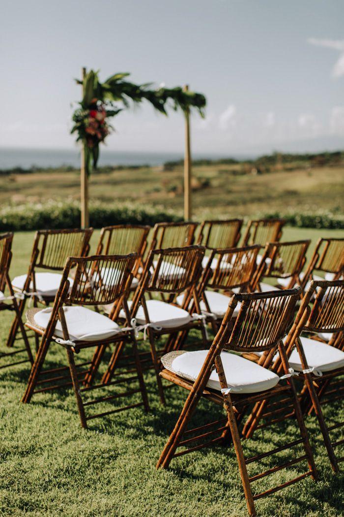 Colorful Eco Friendly Maui Wedding At Punakea Palms Maui