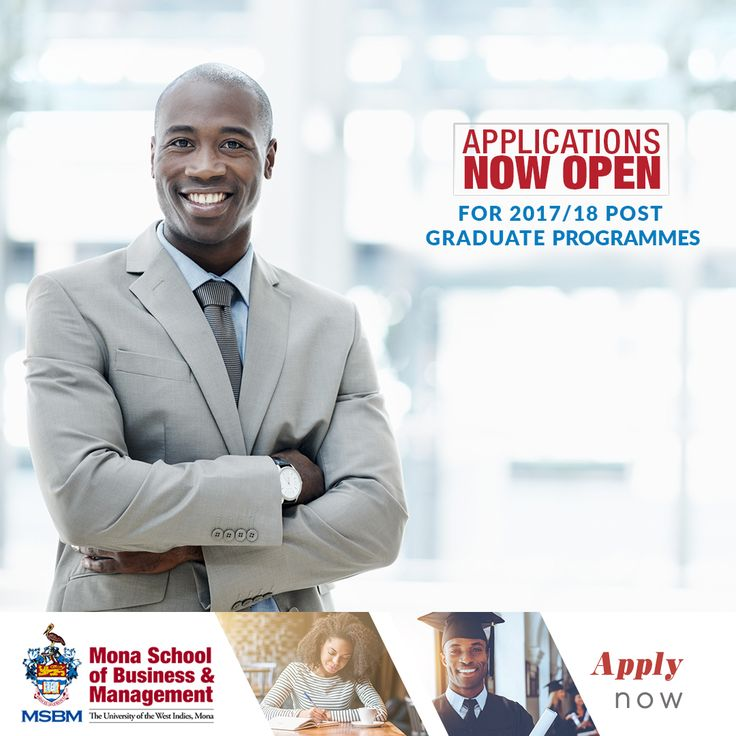 Opportunity knocks!  Your Master's Degree awaits you.   Applications for our post graduate programmes are now open.   Apply online today: www.mona.uwi.edu/msbm/about-msbm  #MSBM #ForwardThinking