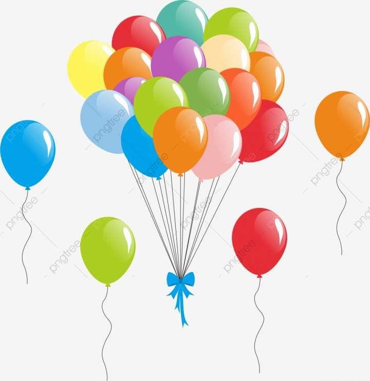 18 Cartoon Balloon Png Balao Desenho Baloes Azuis Word Art