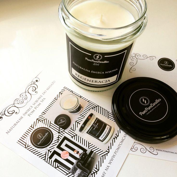 Świeca zapachowa PomPom Candles