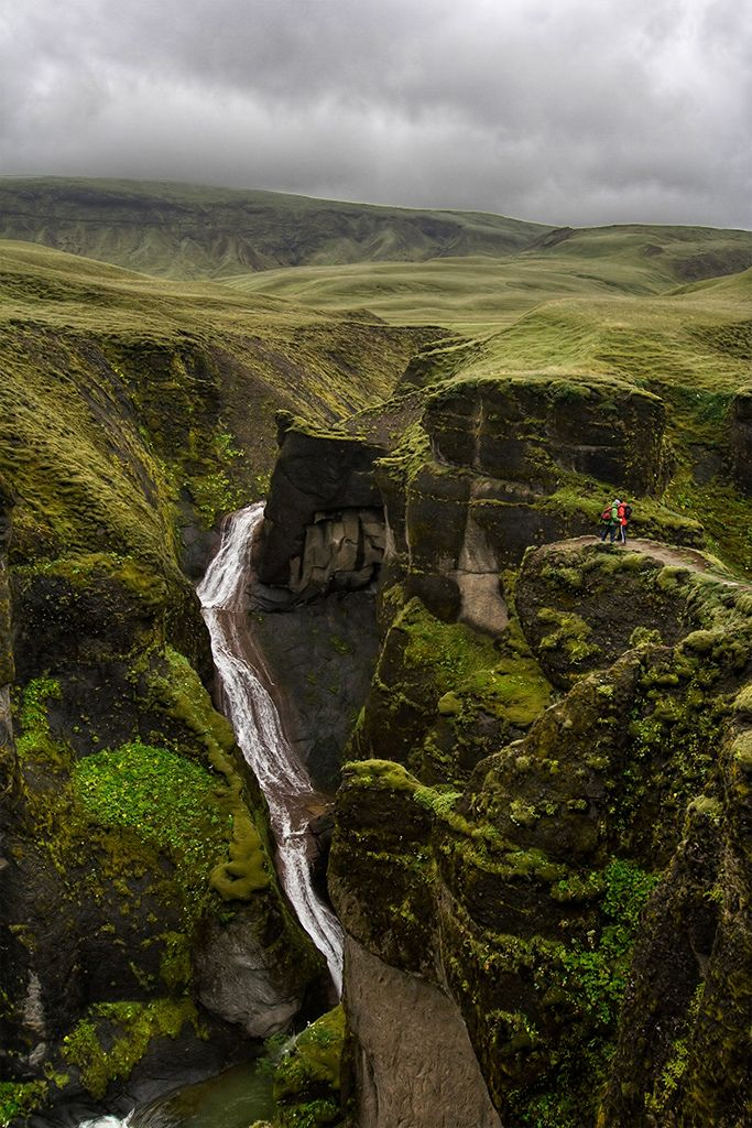 Iceland - that color of green