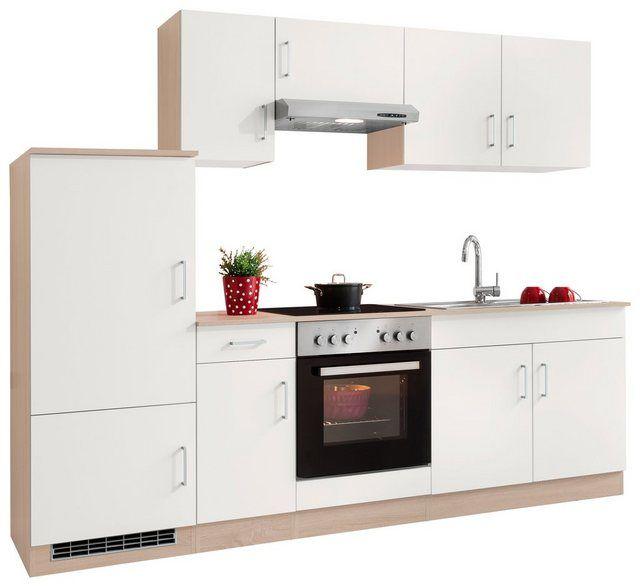 Einbauküche 240 Cm Mit Elektrogeräten
