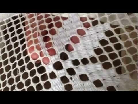 Ponto de passagem - ponto siciliano - Desilado Tipo Punto De Cruz Parte 3 - YouTube