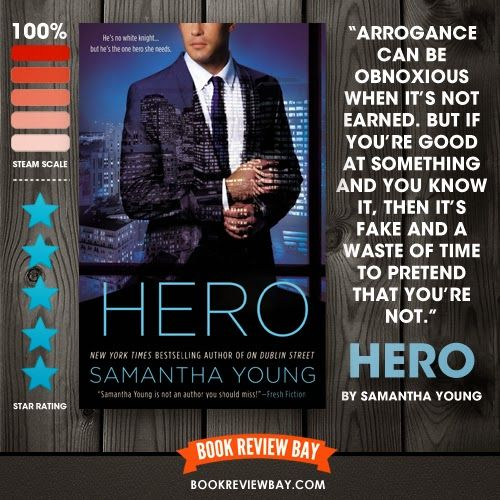 Hero by Samantha Young | Book Review Bay | Romance Book Blog