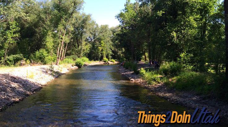 Logan River in #Logan Utah - Isn't it beautiful?