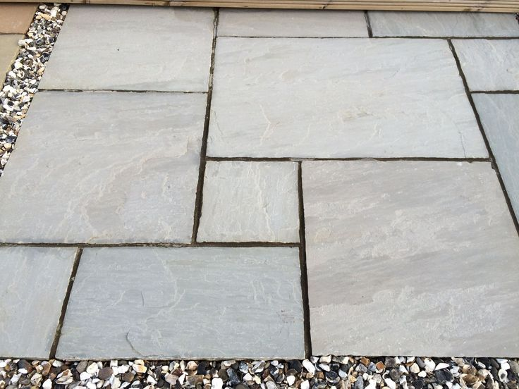 Beautiful Silver Grey Natural Stone Paving Slabs By Ethan Mason Paving. Will Look  Great In Your