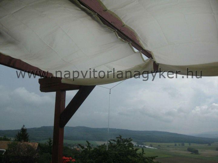 Vízszintesen elhelyezett függönyre hasonlít a paregola árnyékolási rendszerek.  http://www.napvitorlanagyker.hu/pergola.html#