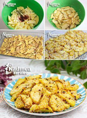 Susamlı Çıtır Patates Tarifi