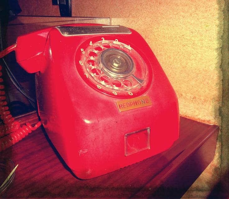 So vintage phone :)