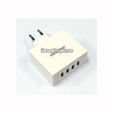 Wellcomm 4 Ports USB Charger Adapter 4.2A IDR 110.000,-