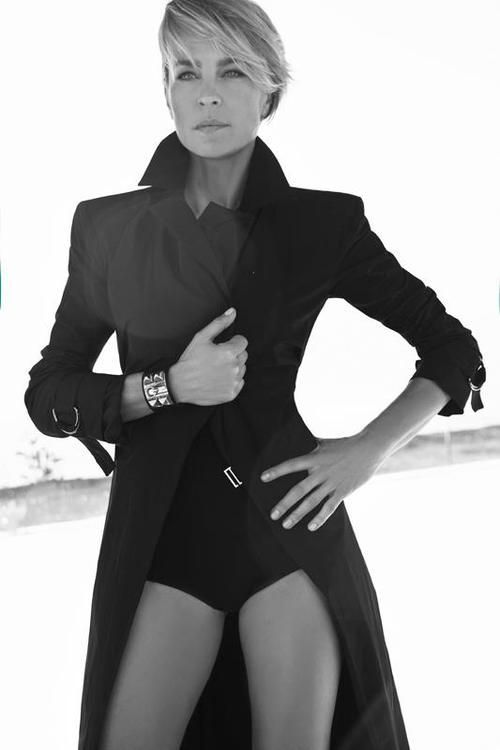 Robin Wright - Claire Underwood - House of Cards - Stijlmeisje