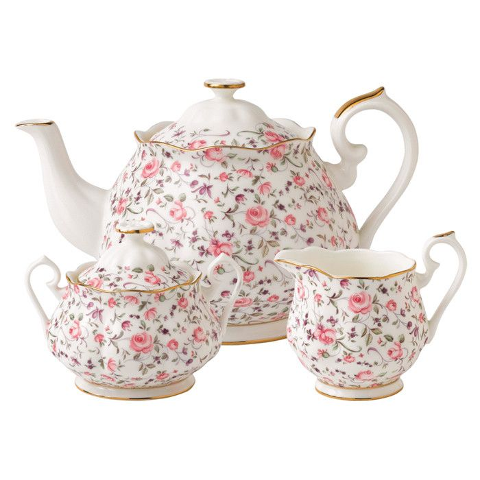 3-Piece Bone China Evelyn Set