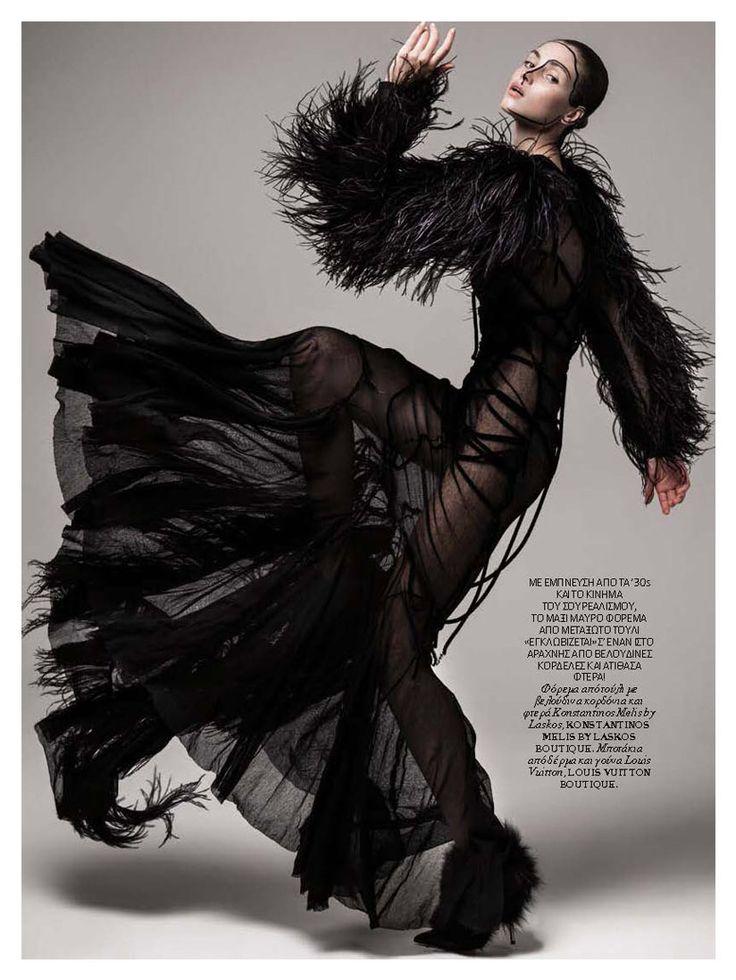 Votre Beaute magazine Konstantinos Melis by Laskos