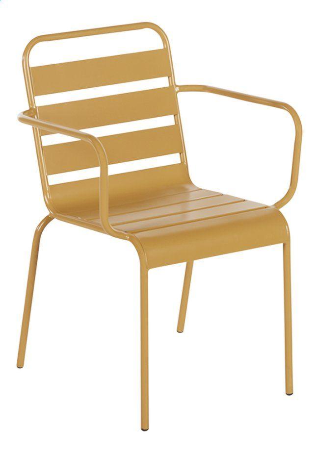 Creez Une Agreable Ambiance Bistrot Sur Votre Balcon Ou Votre Terrasse Avec Cette Chaise Bistrot Roma Jaune Combinez La Avec Tuinstoelen Buitenstoelen Bistro