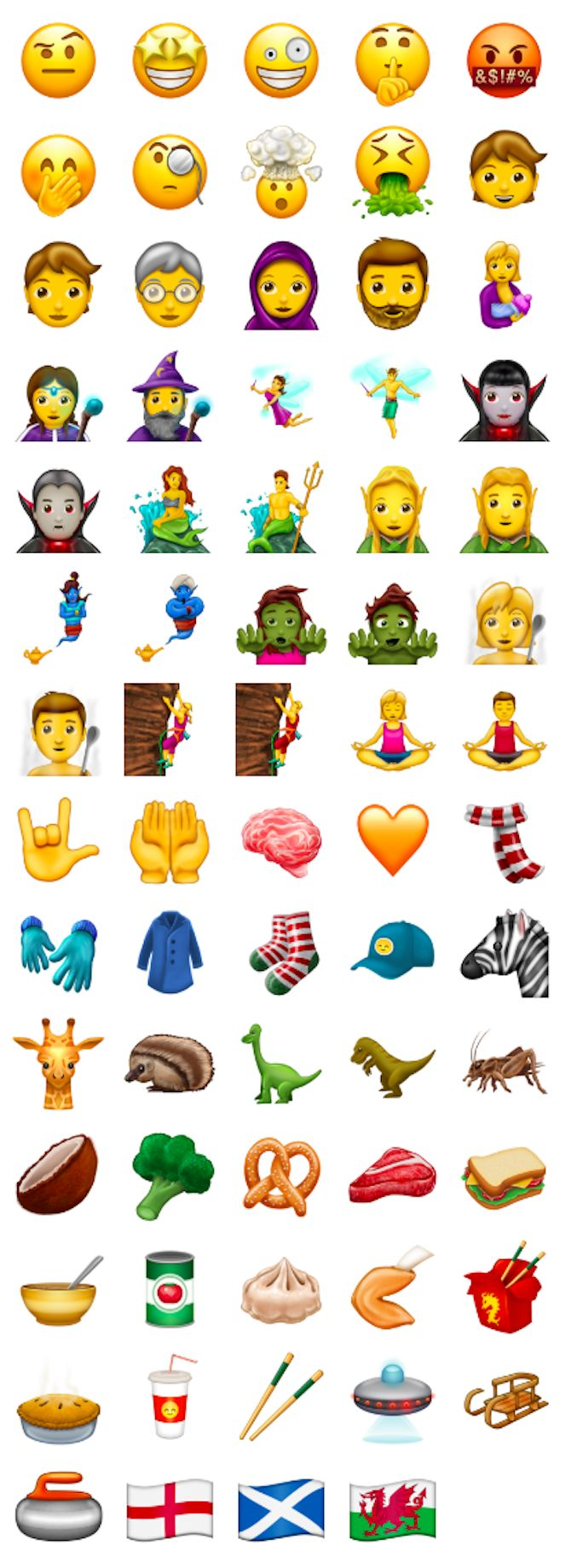 Cuckoo for coconuts? Pining for pretzels? A dumpling devotee? There's good news for you! By the end of 2017, food-obsessed iPhone users will be able to pictorially express their love for food with a bevy of new emojis. As part of Apple's Unicode 10.0 upgrade, the new line-up...