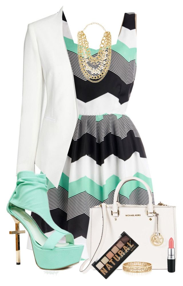"""Mint Dress"" by thalianbaby67 ❤ liked on Polyvore"