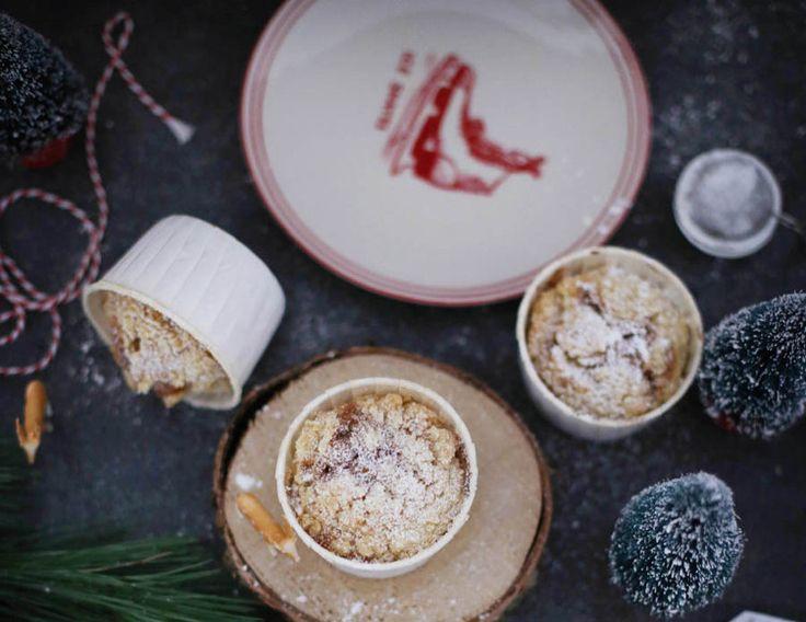 Unsere Gastbloggerin Yvonne zeigt Ihnen wie man schnell Apfel-Zimt-Muffins mit Streuseln vorbereitet, damit es im ganzen Haus so richtig schön nach Weihnachten riecht.