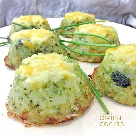 Estos pastelillos de patata y brócoli se han puesto de moda porque los venden en IKEA congelados. Prueba a hacerlos en casa porque es muy fácil y quedan siempre bien.