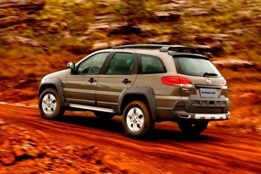 Fiat Palio Weekend 18 /   Is this a Subaru Outback look alike ?? :)