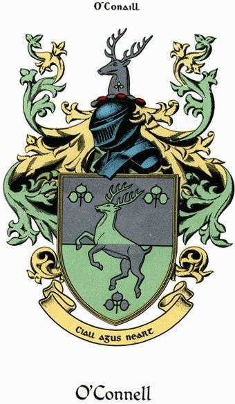 The Early O Connell O Conaill Family History Irish