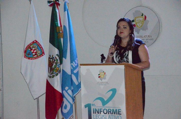Rinde su informe de actividades la diputada María Antonieta Mendoza | El Puntero