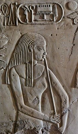 'Flutist in Kheruef's tomb at Luxor.'  This relief detail in the tomb of Kheruef shows a flutist who performs on the occasion of the First...